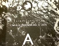 Q//A Printmaking // ZINE