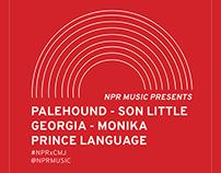 NPR x CMJ Poster Design