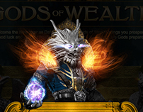 Gods of Wealth Landing Page