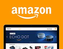 Amazon Website Redesign