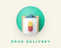 Drug Delivery App Concept