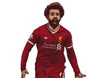 Mohammed Salah LFC EGYPT KING