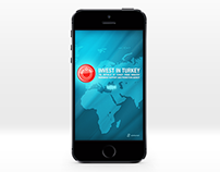 Invest in Turkey - Mobile Application Design