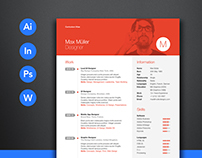 Neue Swiss Resume Template