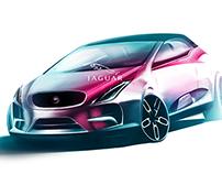 Jaguar city car