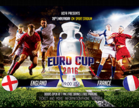 Euro cup 2016 | PSD Template