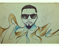 Mangbi Illustration Portrait