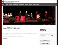 Salem Educational Foundation - Website Redesign