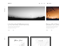 Redesign of my personal Portfolio Website