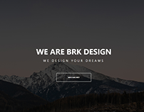 One Page Company Theme - PSD to CSS