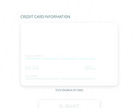 Daily Draw – Credit Card Submit