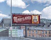 Sagamore Spirit Billboard Lettering