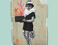 When I grow up...  Digital Collage