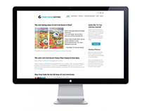 Crab Creek Review Website Updated Design