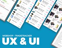 E-commerce platform UX&UI. Client: TradeTracker