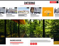 INTERNI Magazine // Website