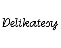 Delikatesy - project of a font
