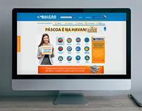 Site Balcão de Negócios - 2014