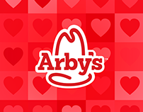 Arby's - Animation Gif for Valentine's Day