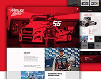 Racing Truck Driver website