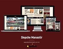 Web Design & Development - SlepcheManastir.com.mk | IA