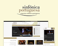 Portuguese Symphony Orchestra - Website