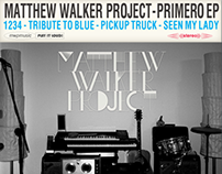 Audio CD design for Matthew Walker Project