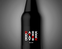 Dark beer mock up