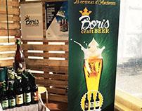 Anuncio de la cerveza Boris.