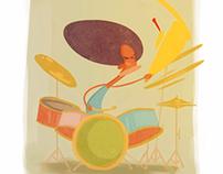 Drummer Gif