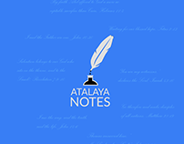 Atalaya Notes logo