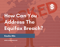 Kewho Min | How Can you Address the Equifax Breach?