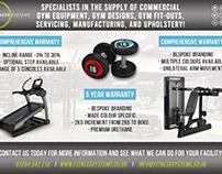 Workout Magazine Promo Advertisements