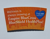 Empire BCBS HP - Coffee Sleeve - 2017 B2B OOH