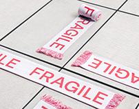 Fragile Goods - Typographic Scarf