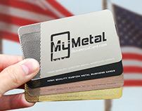 My Metal Business Card - Veteran's Day Donation