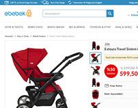 ebebek.com Product Details UX/UI redesign