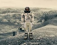 The movie series (Pixel-Art)