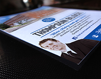 FREELANCE // Tyler Weston Real Estate Flyer