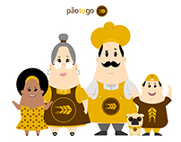 Character Design - Pão to Go