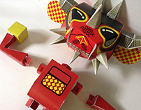 Bang! paper toys