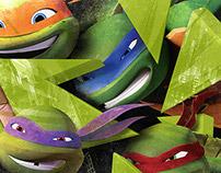 Ninja Turtles Branding—Nickelodeon
