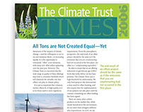 The Climate Trust Quarterly Newsletter