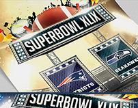 NFL Super Bowl XLIX 2015 PSD Flyer