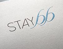 Stay 66 / Bed & Breakfast / Logo Design