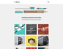 Motive - Creative Wordpress Theme by Themezilla