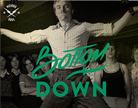Bottom Down Party Poster
