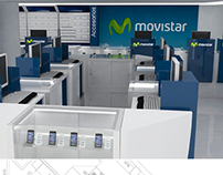 Mobiliario Movistar