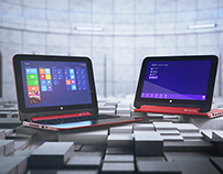 HP Laptop - 3D product Visualization