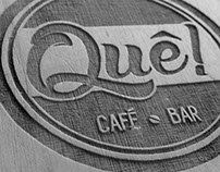 Identity QUÊ! café - bar